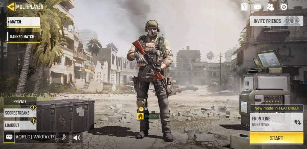 call of duty mobile multiplayer