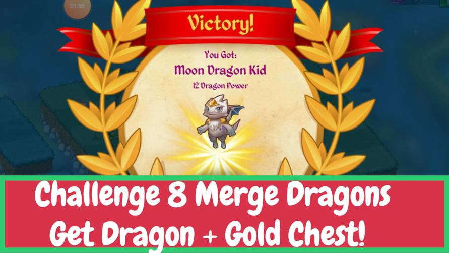 Merge Dragons Challenge 8 Complete