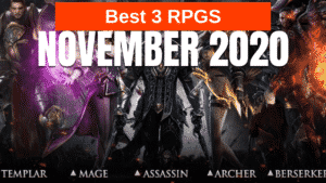 Best 3 Mobile RPGs from November 2020